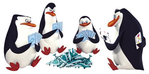 Пингвины работают