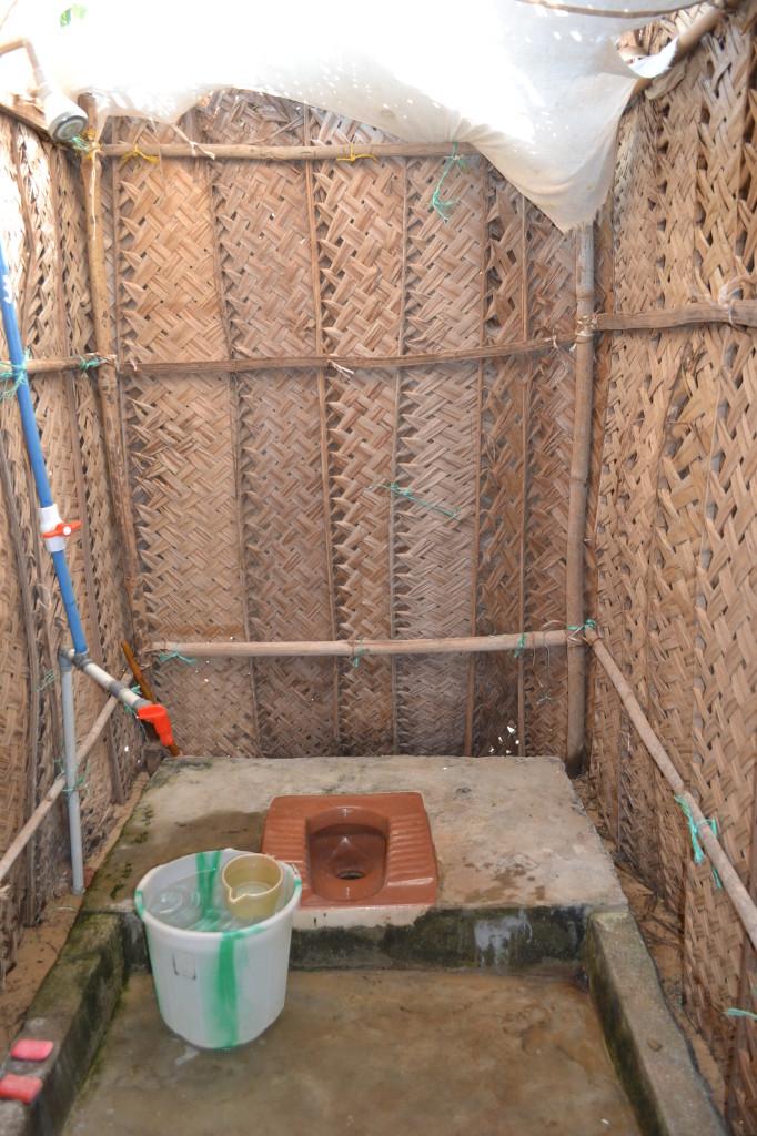 Туалет в бунгало