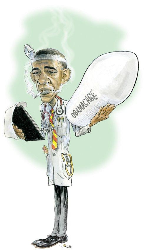 Кого Обама лечит?