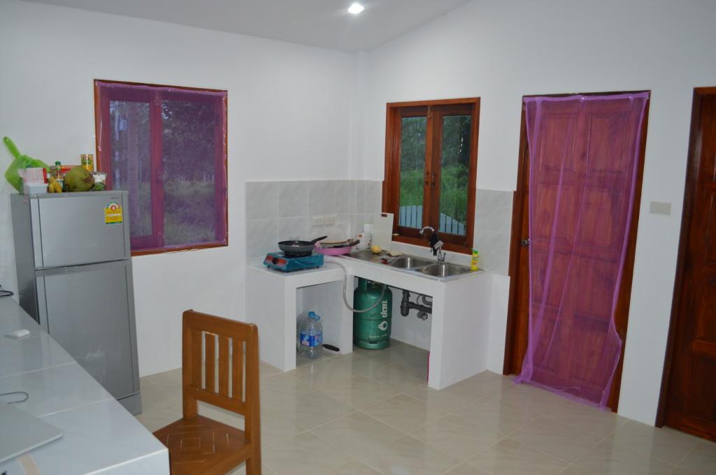 Кухня нового домика