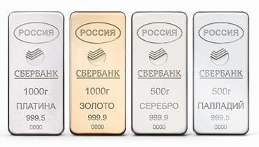 Открытие обезличенных золотых счетов