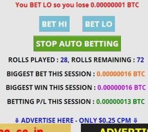 bitcoin автоматическая игра