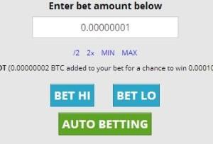 bitcoin ставки