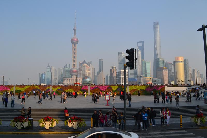 Транзит через Шанхай