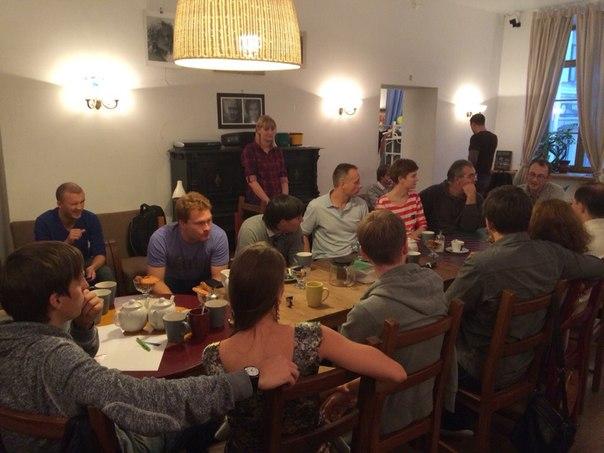 Встреча с читателями ленивого блога