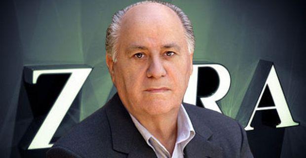 Третье место - Амансио Ортега