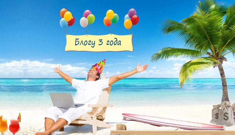 Ленивый День рождения блога