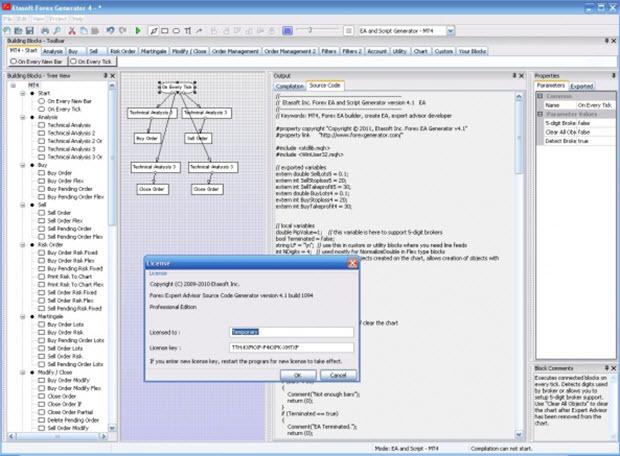 программа Hlaiman EA Generator