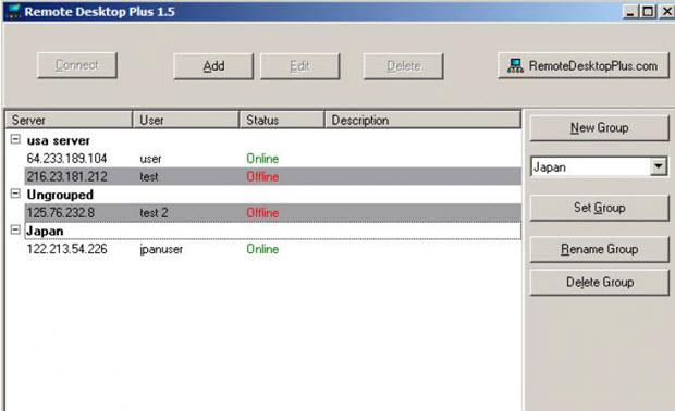 программа Remote Desktop Plus