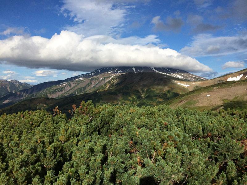 Кепка на вулкане