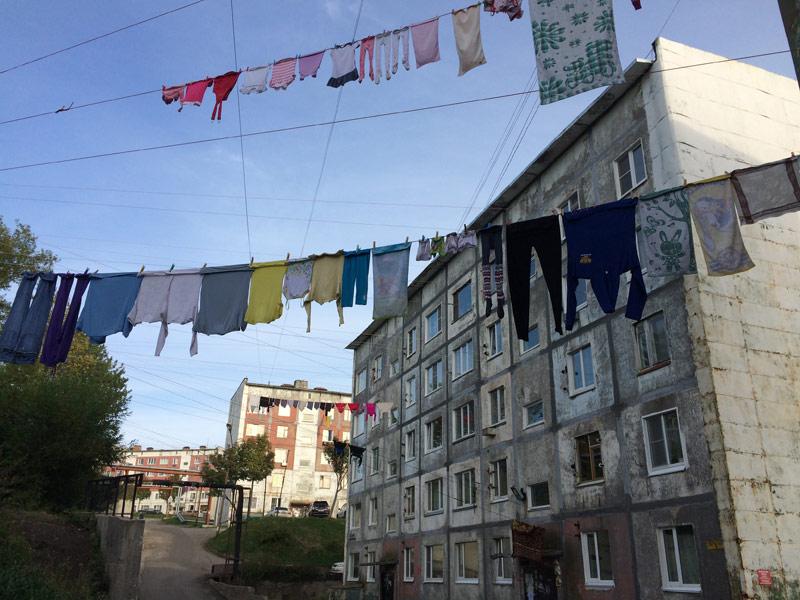 Ежедневные праздник чистоты на Камчатке