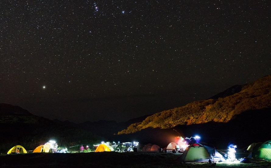 Звездное камчатское небо