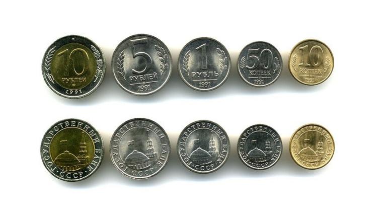 коллекции монет погодовки