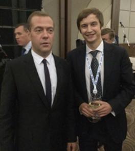 Фото Караулова с Медведевым
