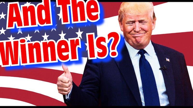 Дональд Трамп выйграет выборы и станет президентом