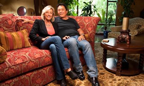 Роберт Кийосаки с женой