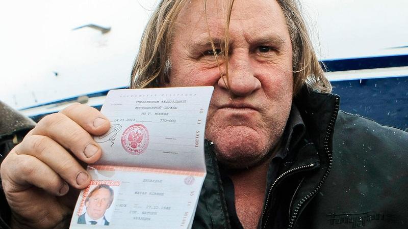 Паспорт Депардье