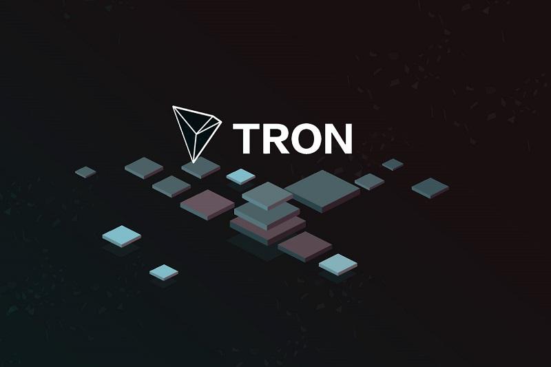 Титул статьи TRON логотип