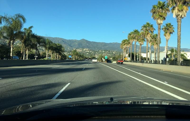 Побережье в Калифорнии