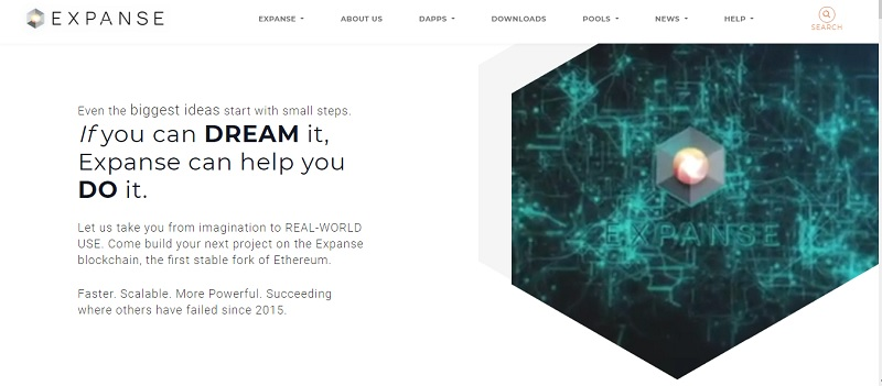 обзор криптовалюты Expanse