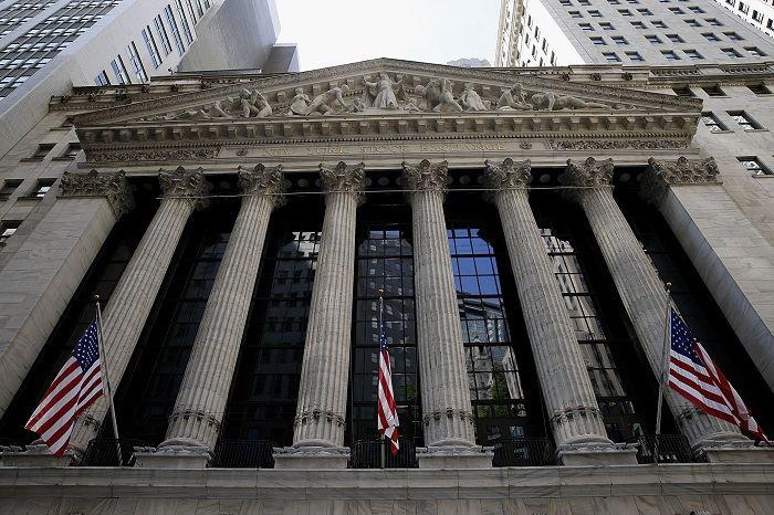 Бирда NYSE в Нью-Йорке