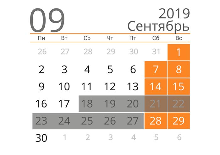 даты слета в черногории